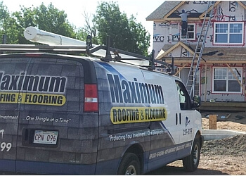 Moncton roofing contractor Maximum Roofing Ltd.
