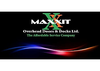 Sherwood Park garage door repair Maxxit Overhead Doors and Docks Ltd.