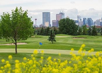 Calgary golf course McCall Lake Golf Course