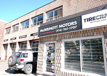 Toronto car repair shop McDermott Motors Tirecraft