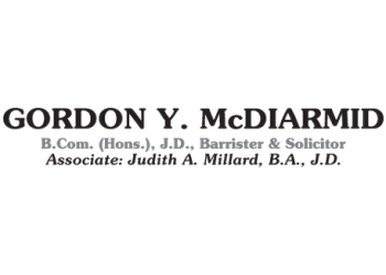 Kingston notary public Gordon Y. McDiarmid