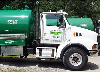 Mississauga septic tank service McIsaac Septic & Drain Service