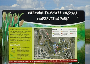 Regina hiking trail McKell Wascana Conservation Park Trail