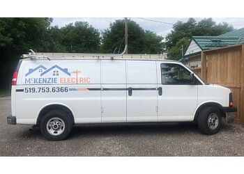 Brantford electrician McKenzie Electric & Plumbing