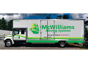 Peterborough moving company McWilliams Moving & Storage Ltd.