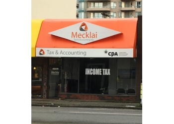 Burnaby tax service Mecklai Tax & Accounting Inc.