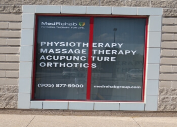 Halton Hills acupuncture MedRehab Group Physiotherapy