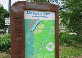 Saskatoon hiking trail Meewasin Park Trail