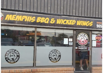 Milton bbq restaurant Memphis BBQ & Wicked Wings
