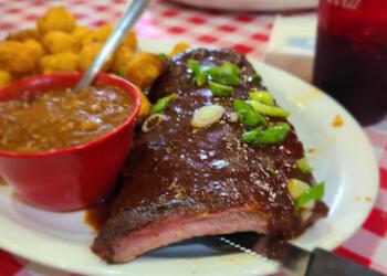 Hamilton bbq restaurant Memphis Fire Barbeque Company