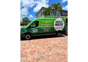 Calgary window cleaner Men In Kilts