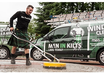 Langley window cleaner Men In Kilts