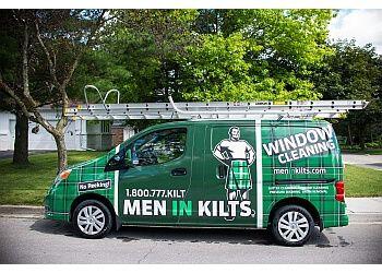 London window cleaner Men In Kilts