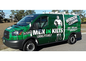 Whitby window cleaner Men In Kilts