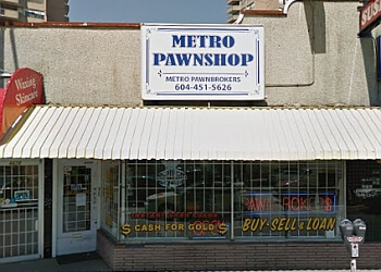 Burnaby pawn shop METRO PAWNBROKERS LTD.