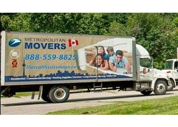 New Westminster moving company Metropolitan Movers