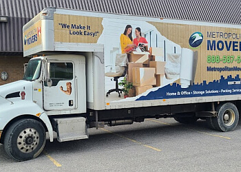 Vaughan moving company Metropolitan Movers, Inc.