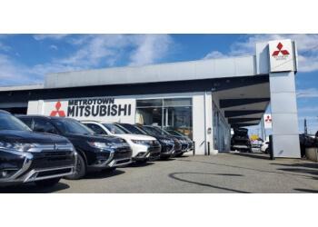 Burnaby car dealership Metrotown Mitsubishi