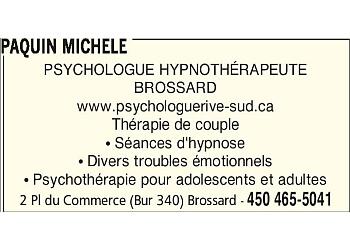 Brossard psychologist Michèle Paquin, psychologue et hypnothérapeute