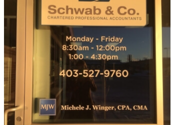 Medicine Hat accounting firm Michele J Winger, CPA, CMA Public Accountant