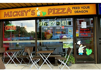 Mississauga pizza place Mickey's Pizza