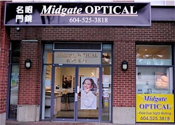 Burnaby optician Midgate Optical