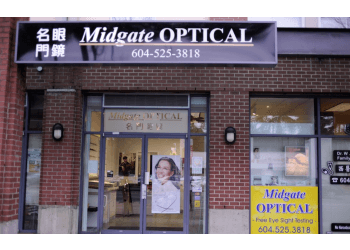 Burnaby optician Midgate Optical