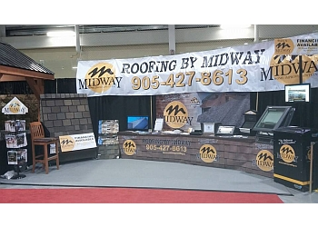 Pickering roofing contractor MIDWAY HOME IMPROVEMENTS INC.