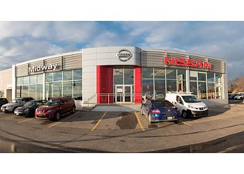 Whitby car dealership Midway Nissan
