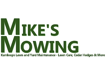 Kamloops lawn care service Mike's Mowing