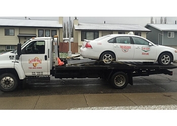 Edmonton towing service Milestone Towing