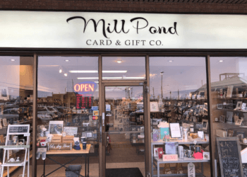 Richmond Hill gift shop Mill Pond Card and Gift Co.