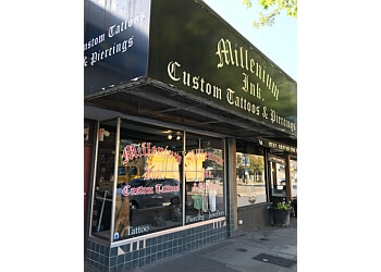 North Vancouver tattoo shop Millenium Ink