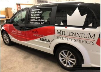 Brantford security system Millennium Security Services
