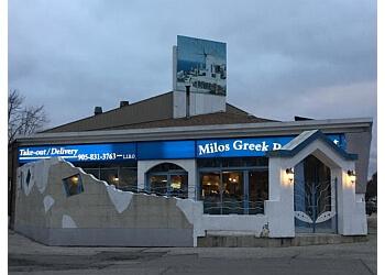 Pickering mediterranean restaurant Milos Greek Restaurant