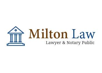 Milton notary public Milton Law