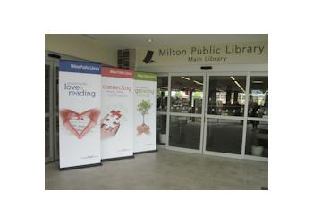 Milton landmark Milton Public Library - Main Library