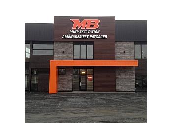 Sherbrooke landscaping company Mini Excavation MB et Émondage d'Arbres MB