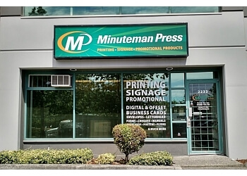 Coquitlam printer Minuteman Press