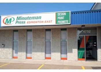 Edmonton printer Minuteman Press