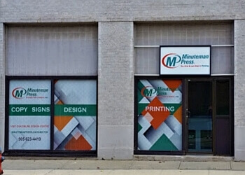 Hamilton printer Minuteman Press
