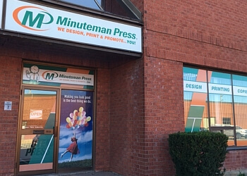 St Catharines printer Minuteman Press
