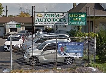 Windsor auto body shop Mirm Auto Body