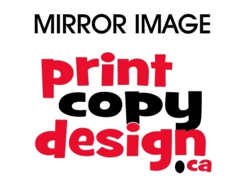 Milton printer Mirror Image Print Copy Design