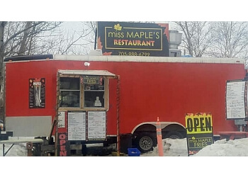 Sudbury food truck Miss Maple Fries