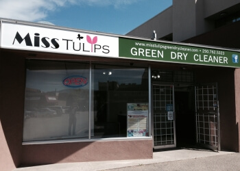 Kelowna dry cleaner Miss Tulips Green Dry Cleaner