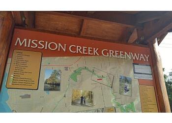 Kelowna hiking trail Mission Creek Regional Park Trail