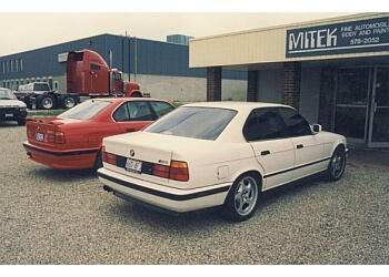 Kitchener auto body shop Mitek Fine Automobile Body & Paint