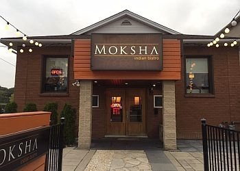 Niagara Falls indian restaurant Moksha Indian Bistro