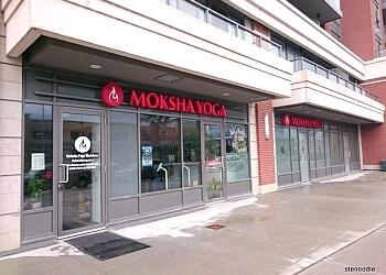 Markham yoga studio Moksha Yoga